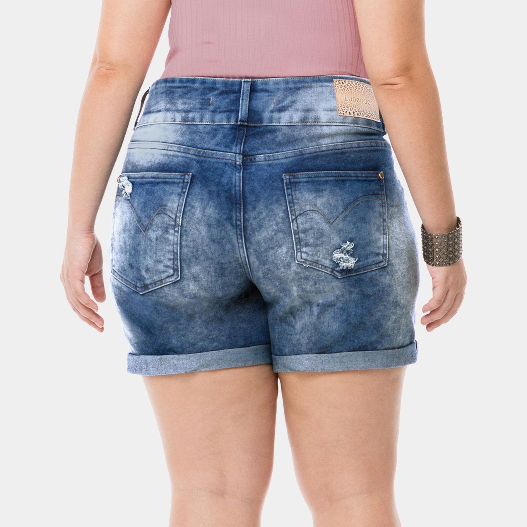 5cad3f732 Bermuda Boyfriend Jeans Claro - Mais Mulher